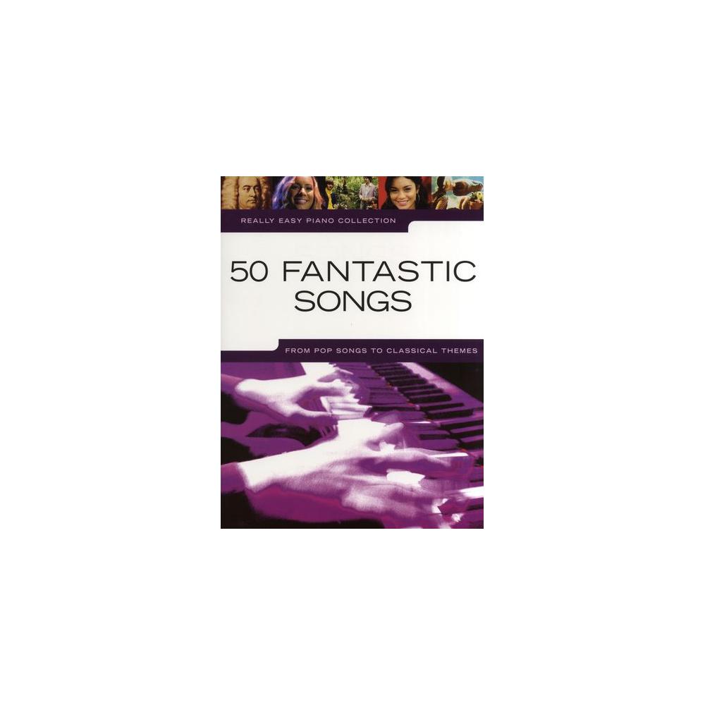 MS Really Easy Piano: 50 Fantastic Songs
