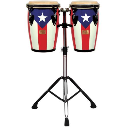 TYCOON Junior congas Puerto Rican Flag