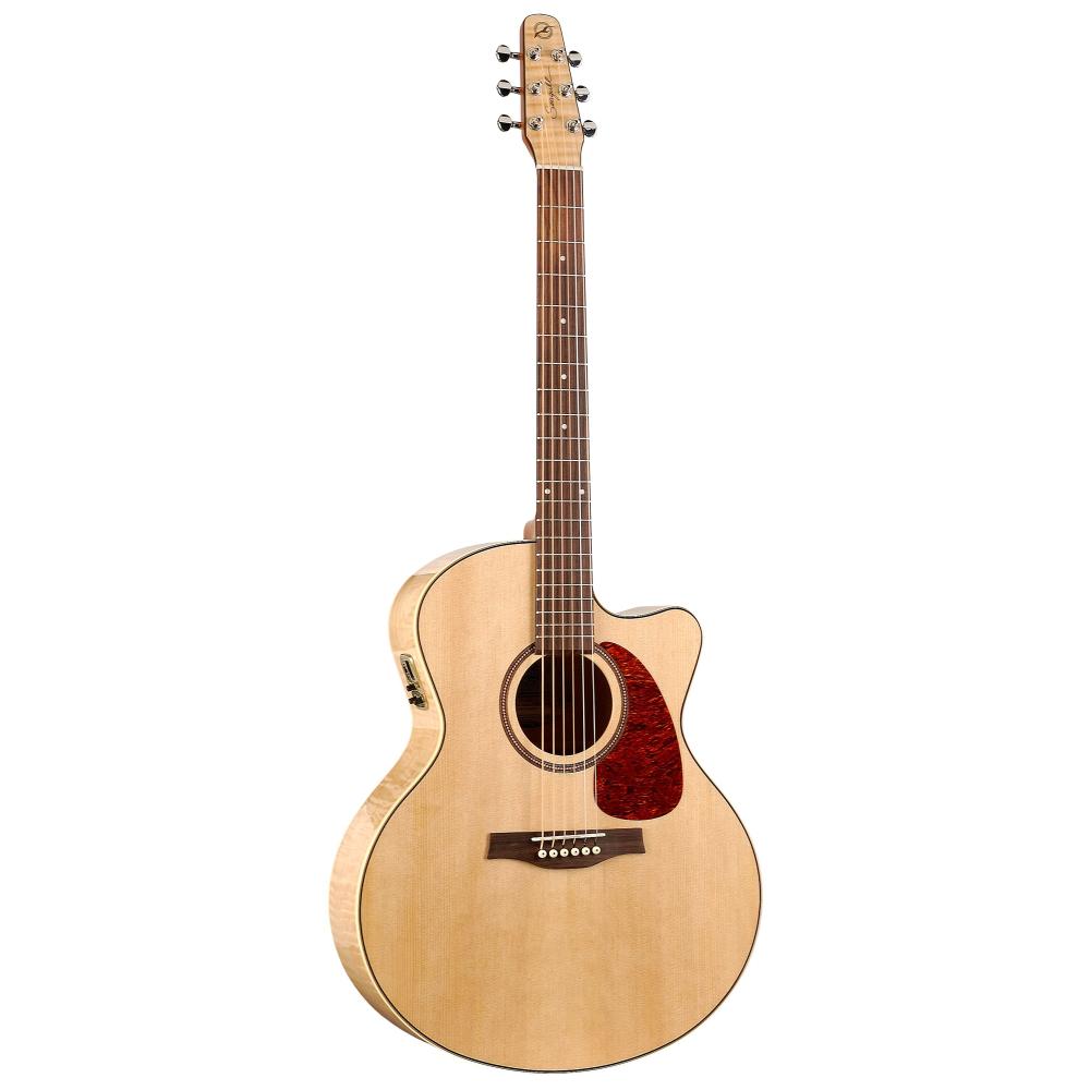 SEAGULL Performer CW MJ Flame Maple HG QI,Akustické kytary,Elektroakustická kytara SEAGULL Performer CW MJ Flame Maple HG QI,1