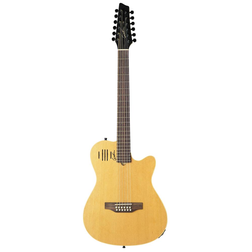 GODIN A12 Natural,12strunné,Dvanáctistrunná elektroakustická kytara GODIN A12 Natural,1