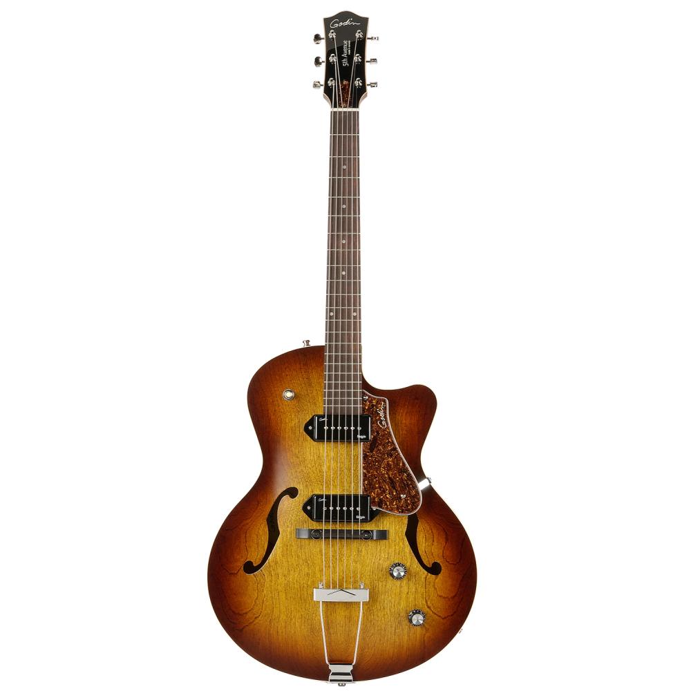 GODIN 5th Avenue CW Kingpin II Cognac Burst,Elektrické kytary,Elektrická kytara GODIN 5th Avenue CW Kingpin II Cognac Burst,1