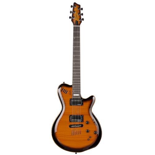GODIN LGX-SA Cognac Burst Flame AA,Elektrické kytary,Elektrická kytara GODIN LGX-SA Cognac Burst Flame AA,1