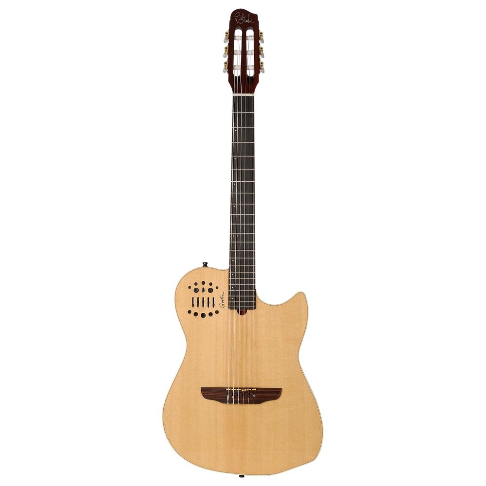 GODIN Multiac Nylon SA Natural HG,Elektroakustické kytary,Elektroakustická MIDI kytara GODIN Multiac Nylon SA Natural HG,1