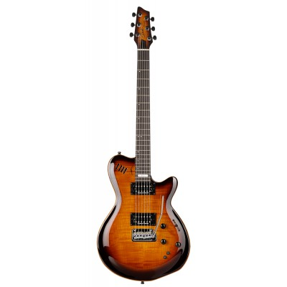 GODIN LGXT SA Cognac Burst Flame AA,Elektrické kytary,Elektrická kytara GODIN LGXT SA Cognac Burst Flame AA,1