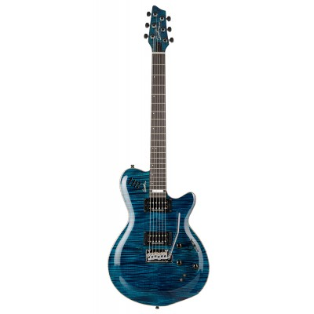 GODIN LGXT SA Trans Blue Flame AAA,Elektrické kytary,Elektrická kytara GODIN LGXT SA Trans Blue Flame AAA,1