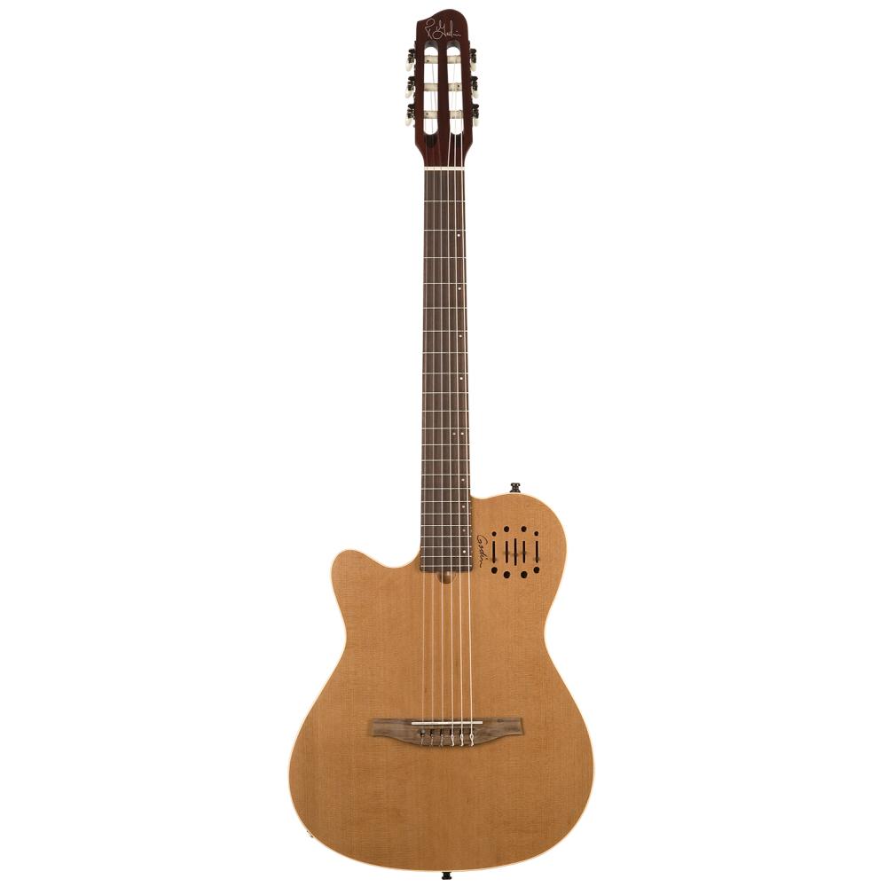 GODIN Multiac Nylon Encore LH Natural SG,Elektroakustické kytary,Elektroakustická kytara GODIN Multiac Nylon Encore LH Natural S