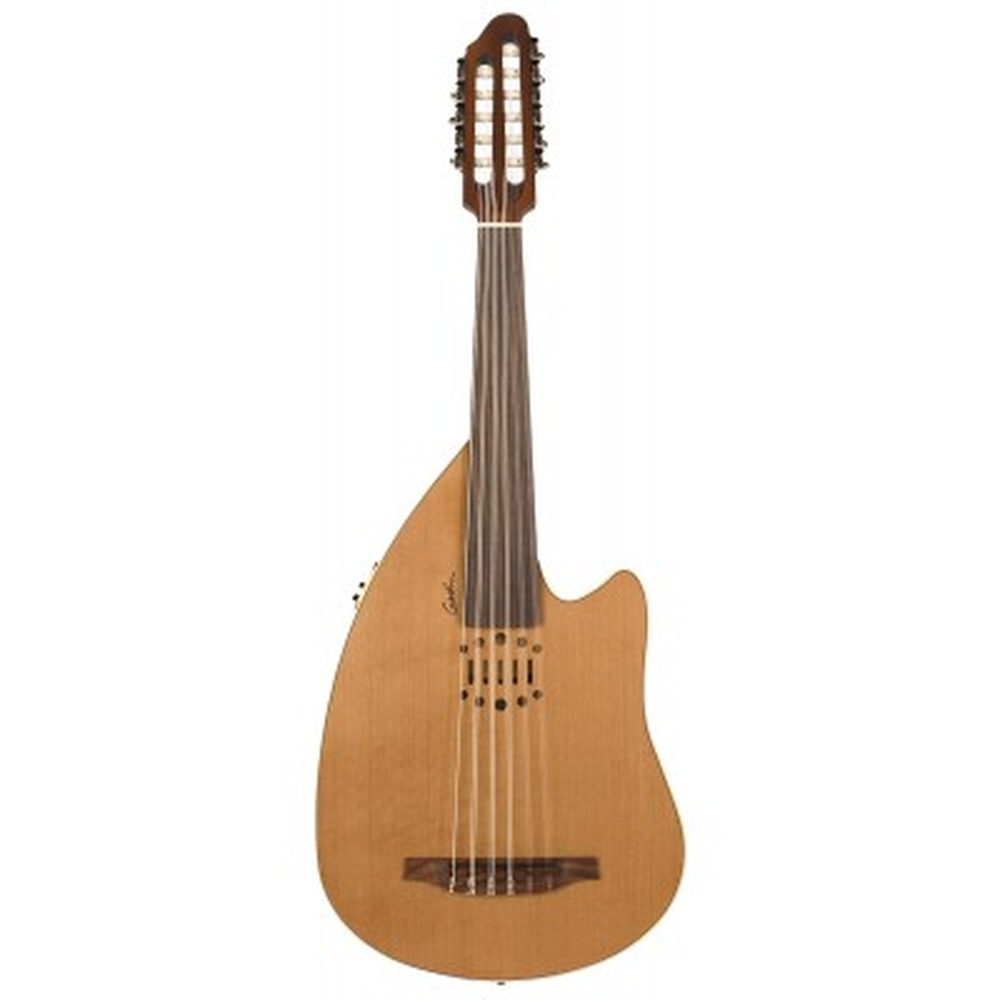 GODIN Multi Oud Encore Nylon Natural SG,Ostatní strunné nástroje,Elektroakustický oud GODIN Multi Oud Encore Nylon Natural SG,1