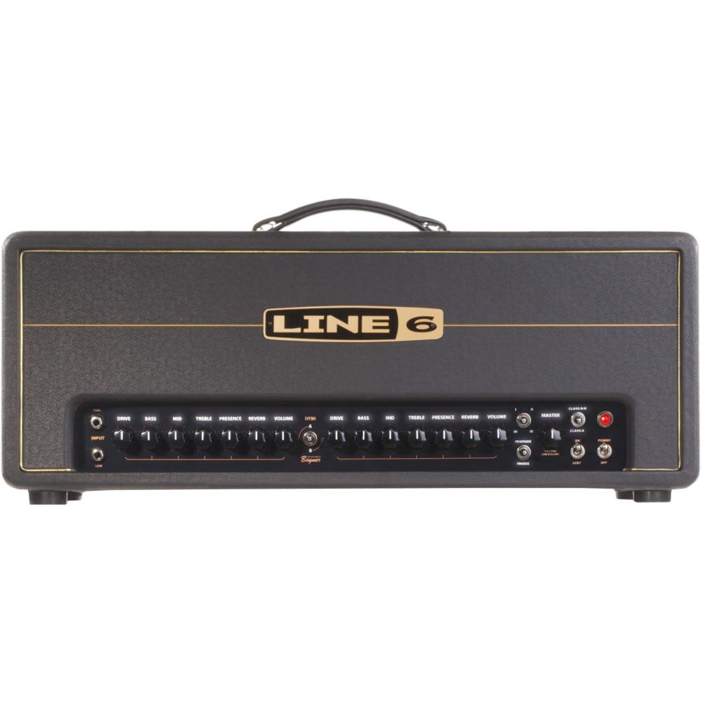 LINE 6 DT50 Head - Kytarové zesilovače - LINE 6 DT50 Head - 1