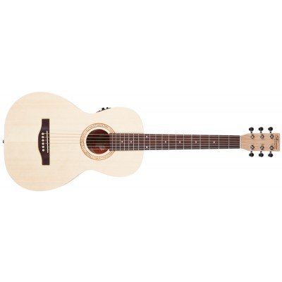 NORMAN Expedition Natural Solid Spruce Parlor SG Isys t
