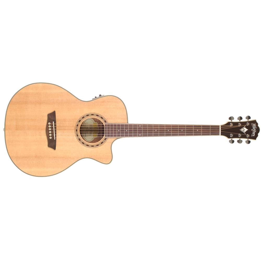 WASHBURN WF10SCE,Akustické kytary,Elektroakustická kytara WASHBURN WF10SCE,1