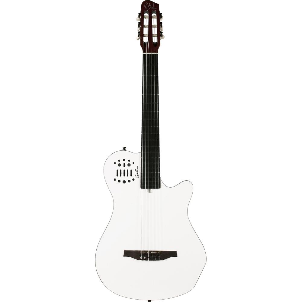 GODIN Multiac Grand Concert SA White HG,Elektroakustické kytary,Elektroakustická MIDI kytara GODIN Multiac Grand Concert SA Whit