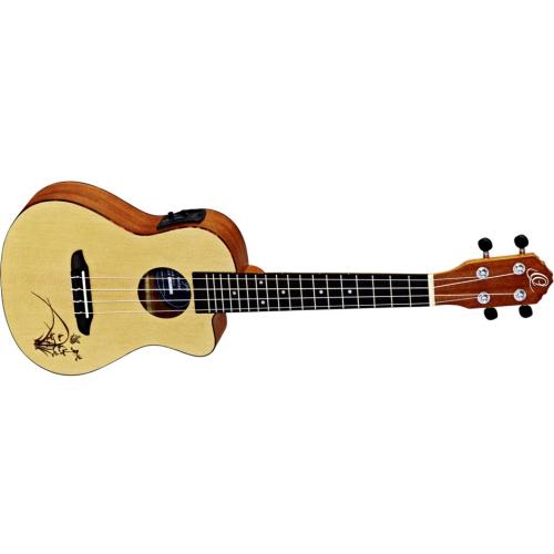 ORTEGA RU5CE,Ukulele,Koncertní ukulele ORTEGA RU5CE,1