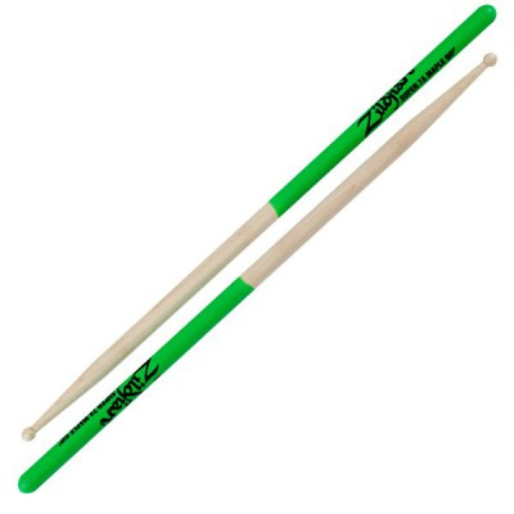 ZILDJIAN Super 7A Maple Green Dip
