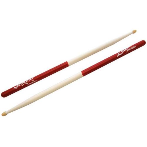 ZILDJIAN 5A Acorn Wood White Red Dip