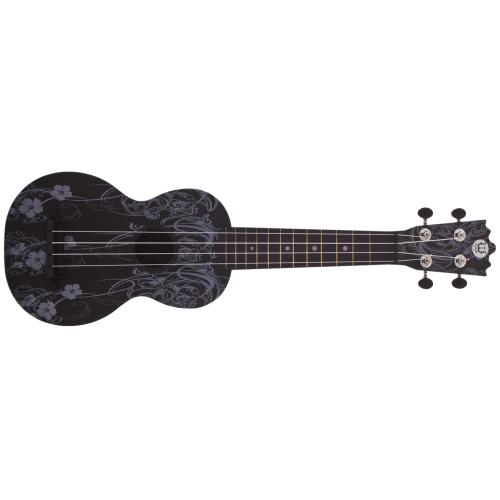 WOODI WU-21F7(BK),Ukulele,Akustické ukulele WOODI WU-21F7(BK),1