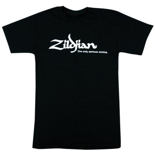 ZILDJIAN Classic Black Tee Shirt Small