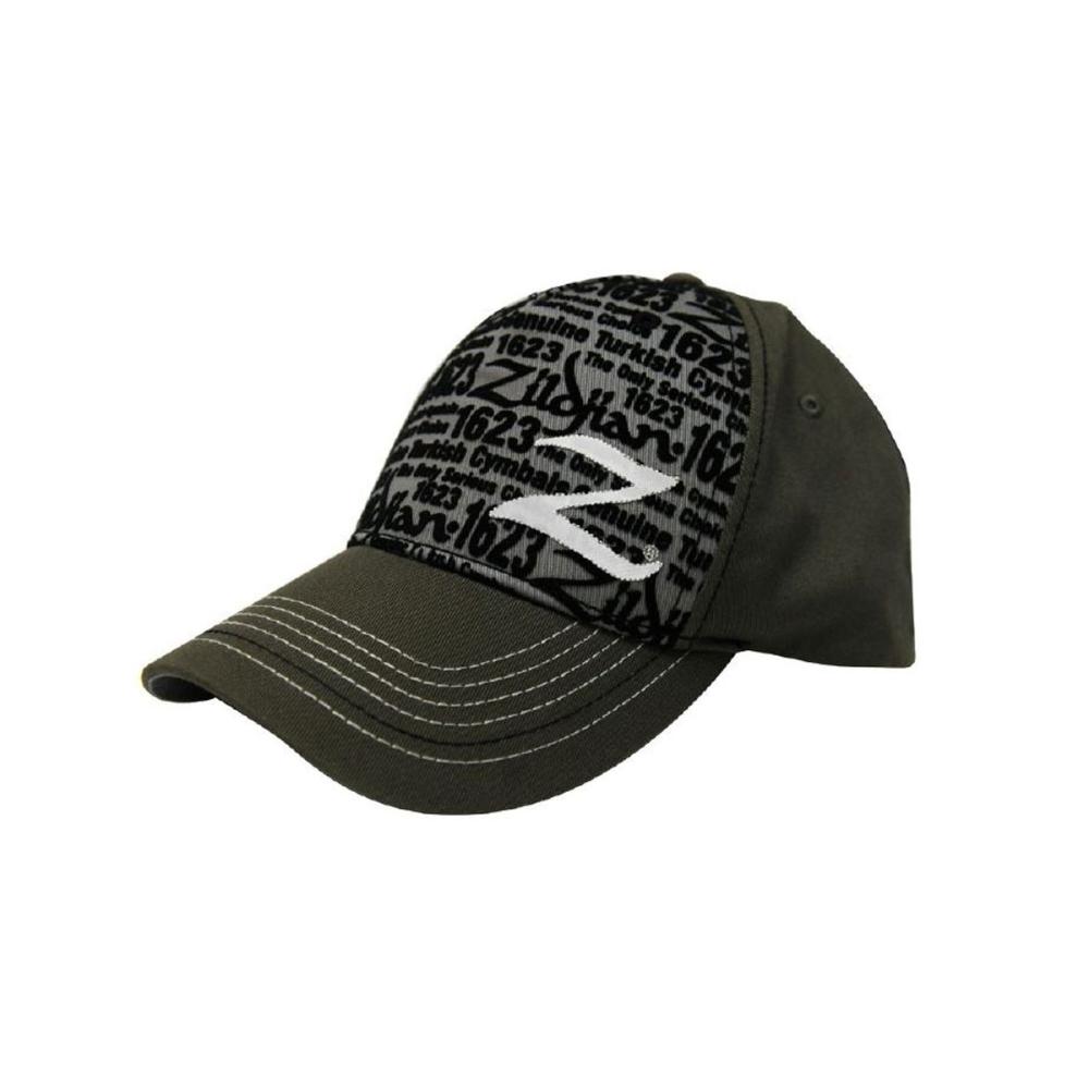 ZILDJIAN Premium Black/Green Mesh Trucker Hat