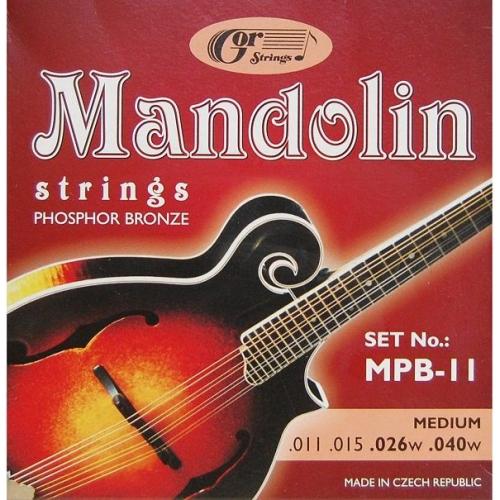 Struny pro mandolinu