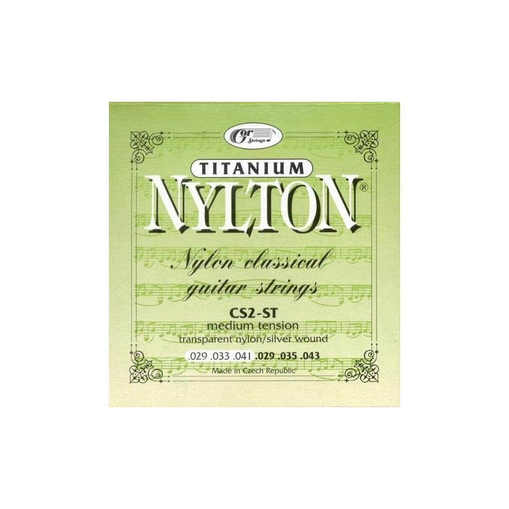 NYLTON CS2-ST - Struny - Struny pro klasickou kytaru NYLTON CS2-ST - 1