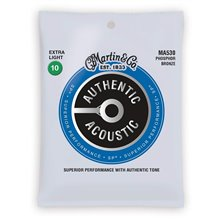 MARTIN Authentic SP 92/8 Phosphor Bronze Extra Light