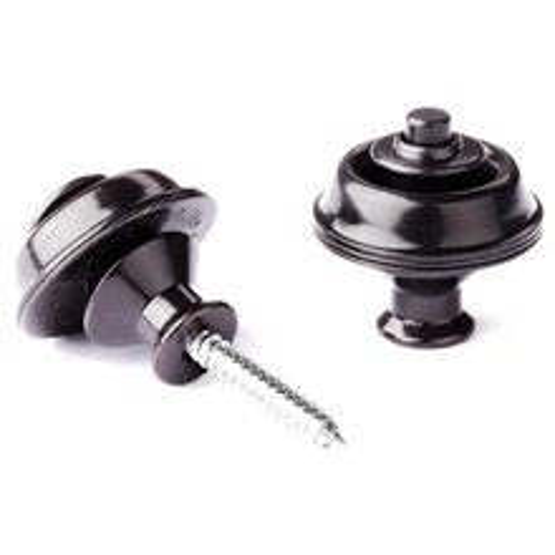 DUNLOP Straplok Dual Design Black
