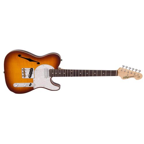 VINTAGE V72FTB,Elektrické kytary,Elektrická kytara VINTAGE V72FTB,1