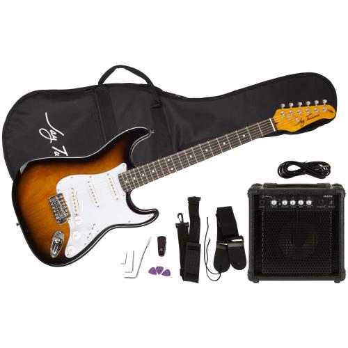 JAY TURSER JT-300TSBPAK-E,Elektrické kytary,Kytarový komplet JAY TURSER JT-300TSBPAK-E,1