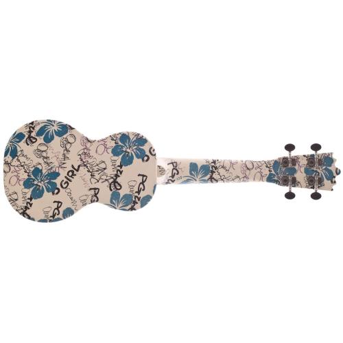 WOODI WU-21F4(WH),Ukulele,Akustické ukulele WOODI WU-21F4(WH),1