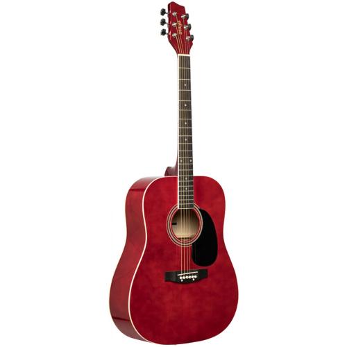 STAGG SA20D RED,Dreadnought,akustická kytara STAGG SA20D RED,1