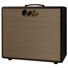 PRS 2x12 - Stealth Black & Tan Grill cloth