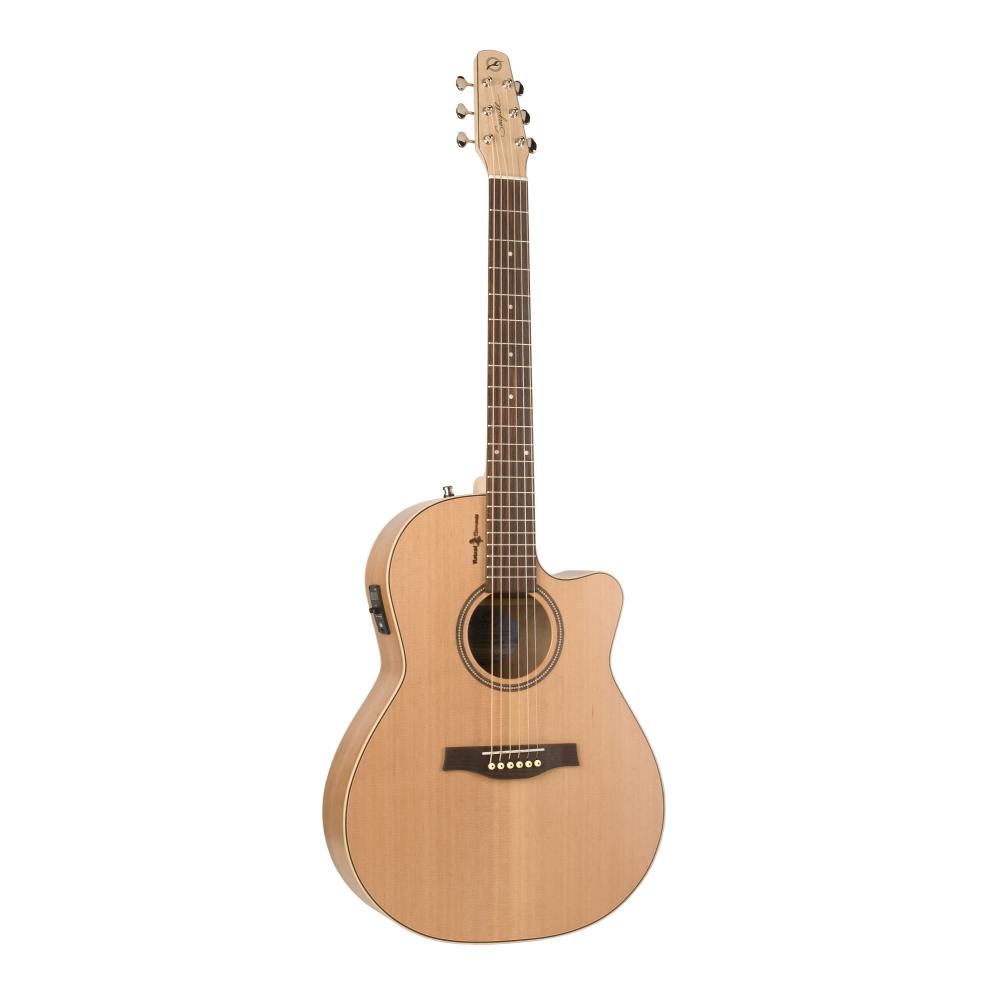 SEAGULL Natural Cherry CW Folk SG T35,Akustické kytary,Elektroakustická kytara SEAGULL Natural Cherry CW Folk SG T35,1