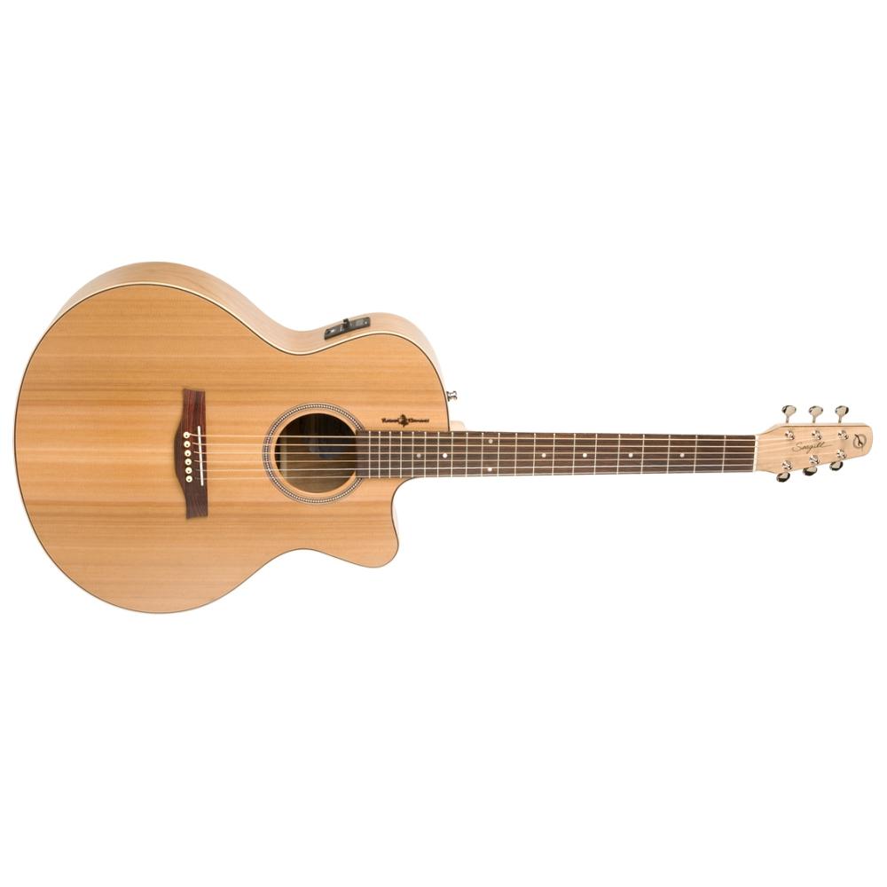 SEAGULL Natural Cherry CW Mini Jumbo SG T35,Akustické kytary,Elektroakustická kytara SEAGULL Natural Cherry CW Mini Jumbo SG T35