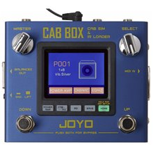 JOYO R-08 CAB BOX CAB SIM&IR LOADER