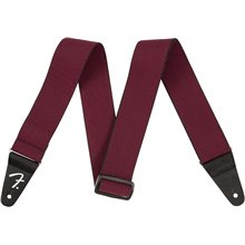 FENDER WeighLess Tweed Strap Red