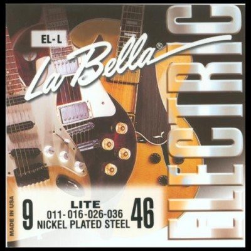 La Bella EL-L Light - Tvrdost .009 - Struny pro elektrickou kytaru La Bella EL-L Light - 1