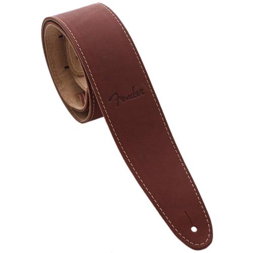 FENDER Ball Glove Leather Strap, Brown