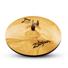 "ZILDJIAN 13"" A Custom hi hat brilliant"