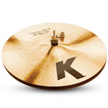 "ZILDJIAN 14"" K Custom dark hi hat"