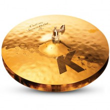 "ZILDJIAN 14"" K Custom session hi hat"