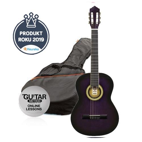 ASHTON SPCG 44 TP Pack,Klasické kytary,Klasická kytara ASHTON SPCG 44 TP Pack,1