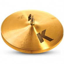 "ZILDJIAN 15"" K light hi hat"