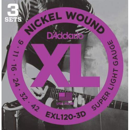 D'ADDARIO EXL120-3D