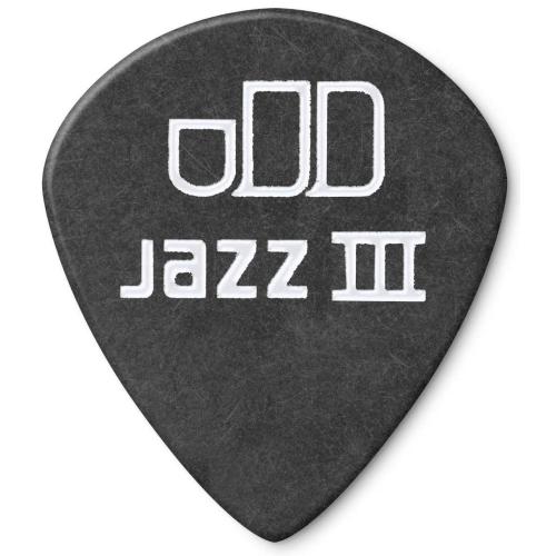 DUNLOP Tortex Pitch Black Jazz III 1.0