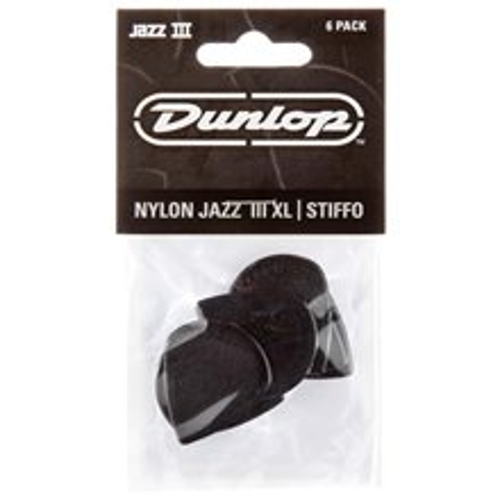 DUNLOP Jazz III XL Black Stiffo