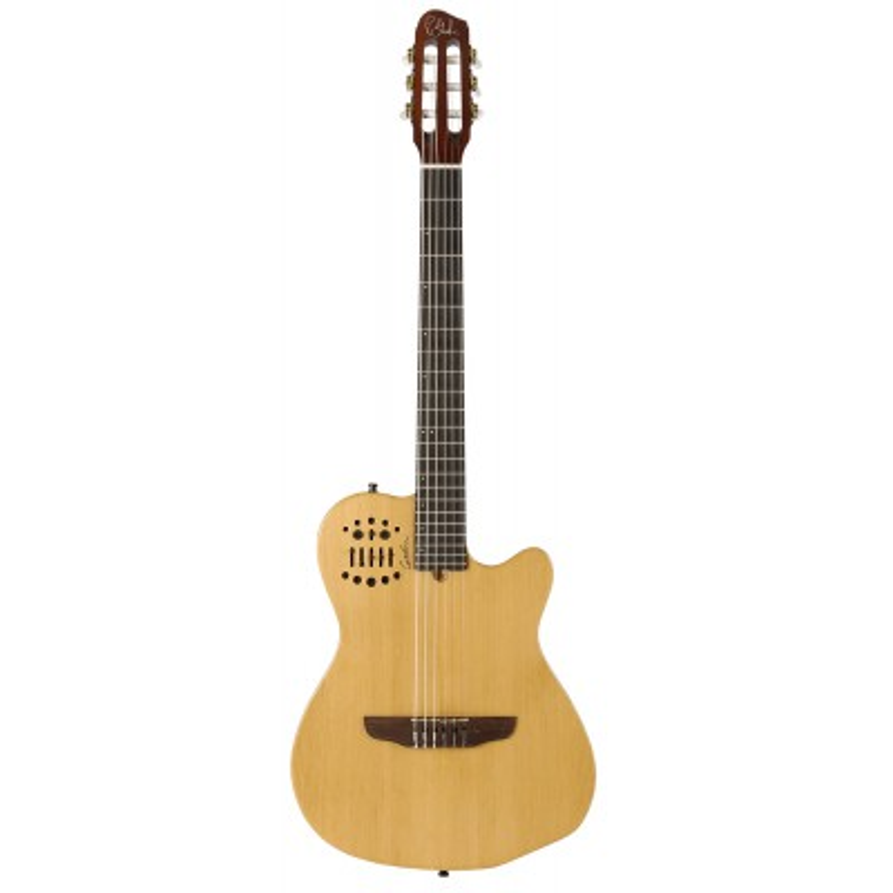 GODIN ACS-SA SLIM Nylon Natural SG,Elektroakustické kytary,Elektroakustická MIDI kytara GODIN ACS-SA SLIM Nylon Natural SG,1