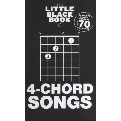 MS The Little Black Book of 4-Chord Songs
