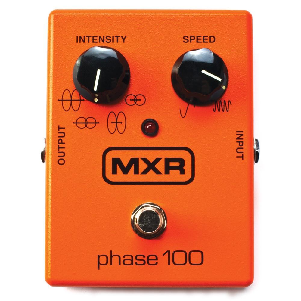 DUNLOP MXR M107 Phase 100 - Baskytarové efekty - PedálMXR Phase 100je rozšířenou verzí jednoho z nejoblíbenějších phaser efekt
