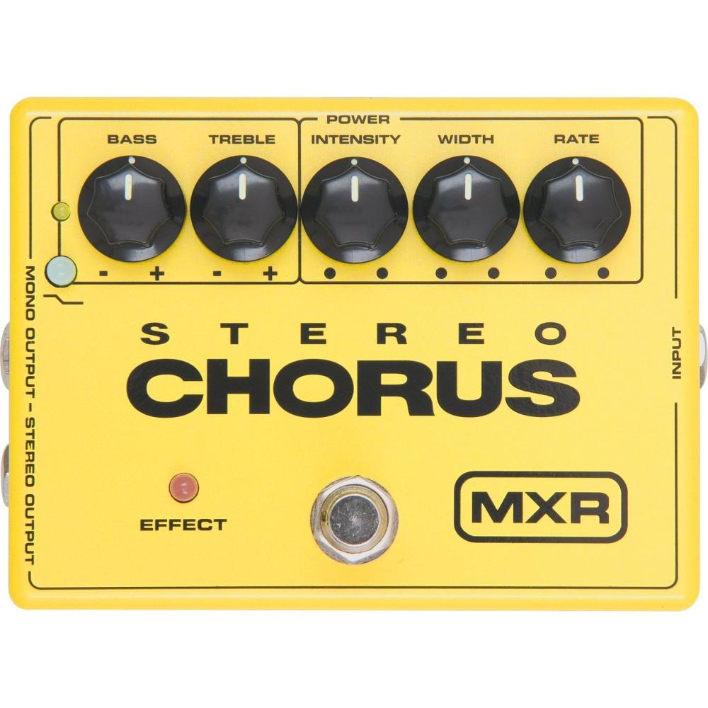 DUNLOP MXR M134 Stereo Chorus - Kytarové efekty a multiefekty - Kytarový efekt DUNLOP MXR M134 Stereo Chorus - 1